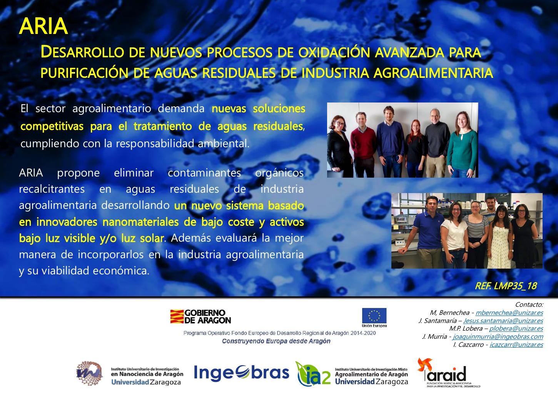 Desarrollo De Nuevos Procesos De Oxidación Avanzada Para Purificación De Aguas Residuales De Industria Agroalimentaria