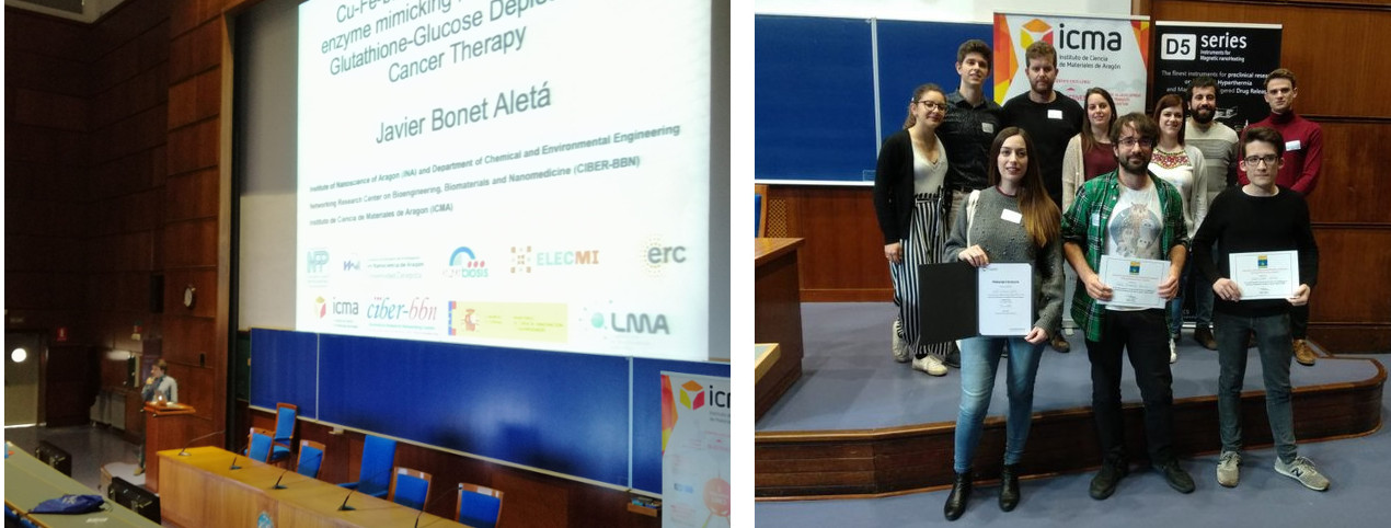 Young Researcher Award for Javier Bonet Aletá