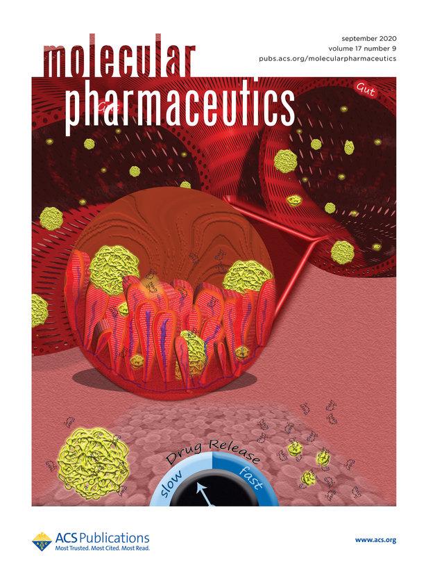 Nueva portada para la revista Molecular Pharmaceutics