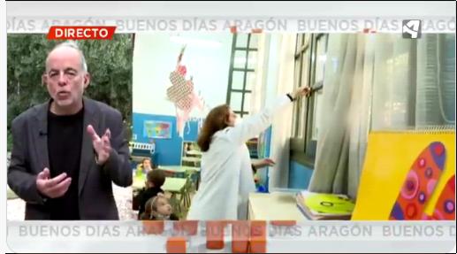Aragon TV. La importancia de las mascarillas, la distancia y la ventilación