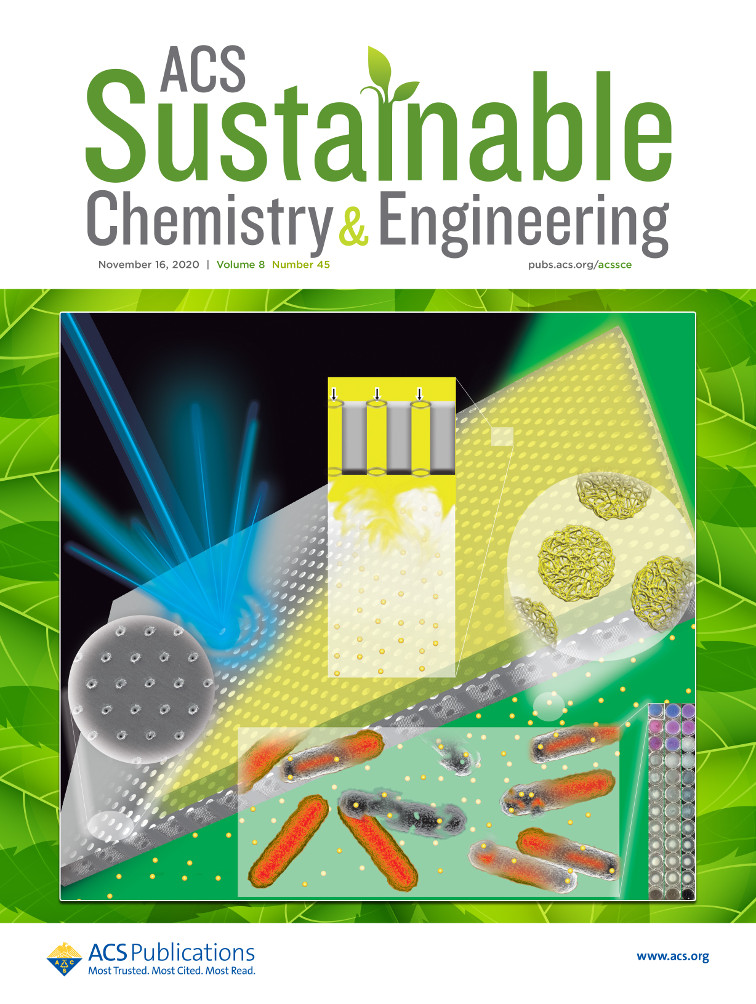 Nueva portada para la revista ACS Sustainable Chemistry & Engineering