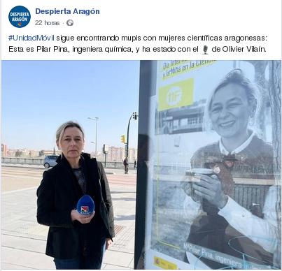 Aragón Radio. Entrevista a Pilar Pina en Despierta Aragón